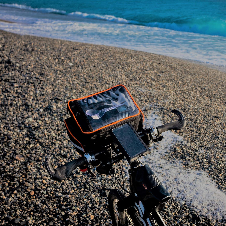 Piccolo Lbera ib-hb4/Bike Manubrio Borsa con Tracolla Imbottita