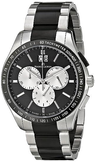 Maurice Lacroix MI1028-SS002-331 - Reloj  Amazon.es  Relojes 4ce507ca75b9
