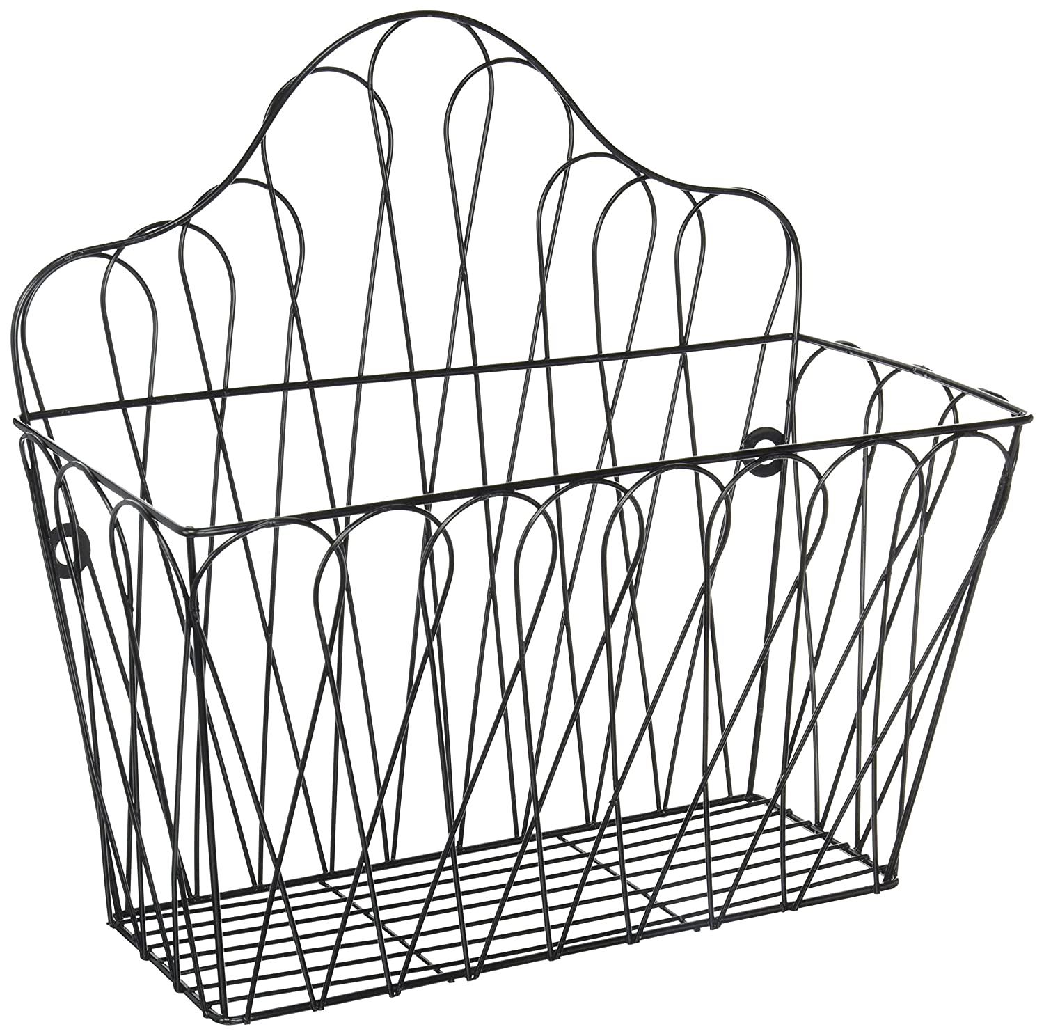 Decorative Wall Mounted Metal Magazine and Storage Rack by Trademark Innovations MAGRACK-METAL