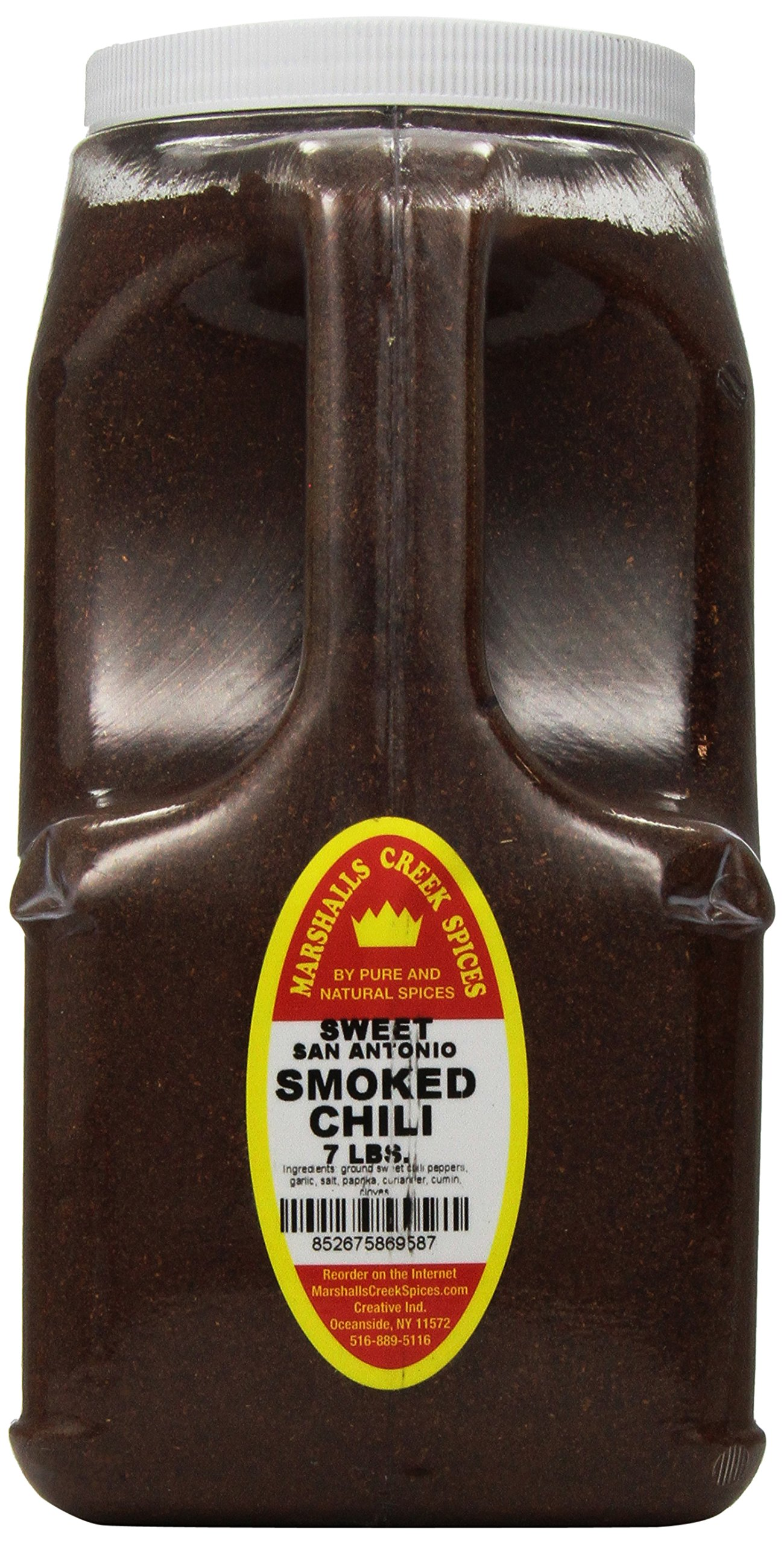 Marshalls Creek Spices Smoked Sweet San Antonio Chili Blend, XX-Large, 7 Pound