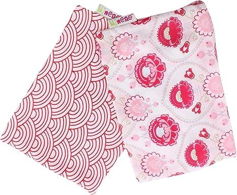Minene 10011 - Pack de 2 muselinas para niñas, extra largas con ...