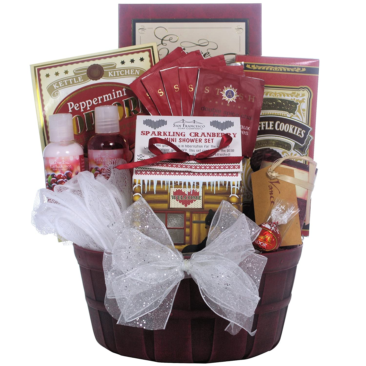 Great Arrivals Spa Holiday Christmas Gift Basket, Peace and ...