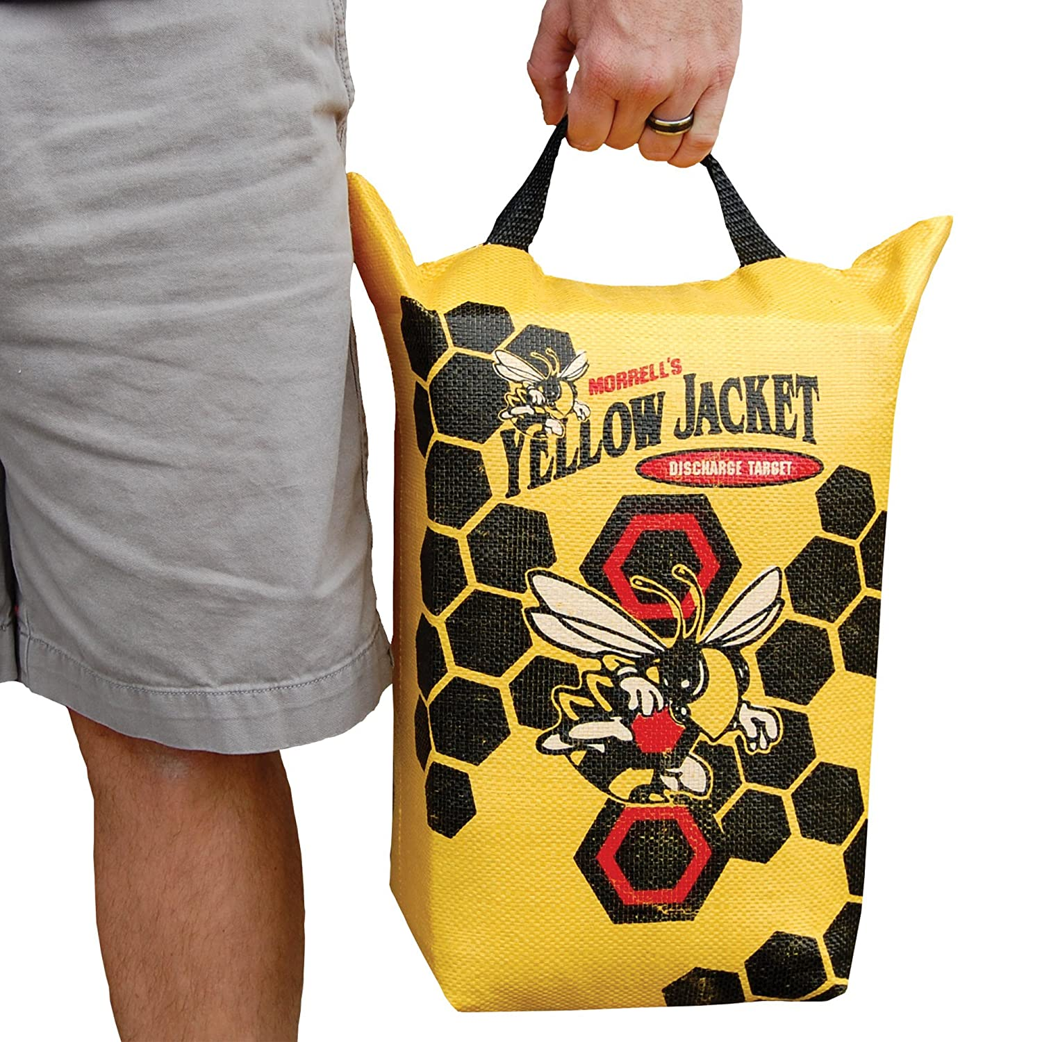 Morrell Yellow Jacket Crossbow Bolt Discharge Bag Archery Target - for  Safely Discharging Crossbow Bolts After 0ff0281ea3