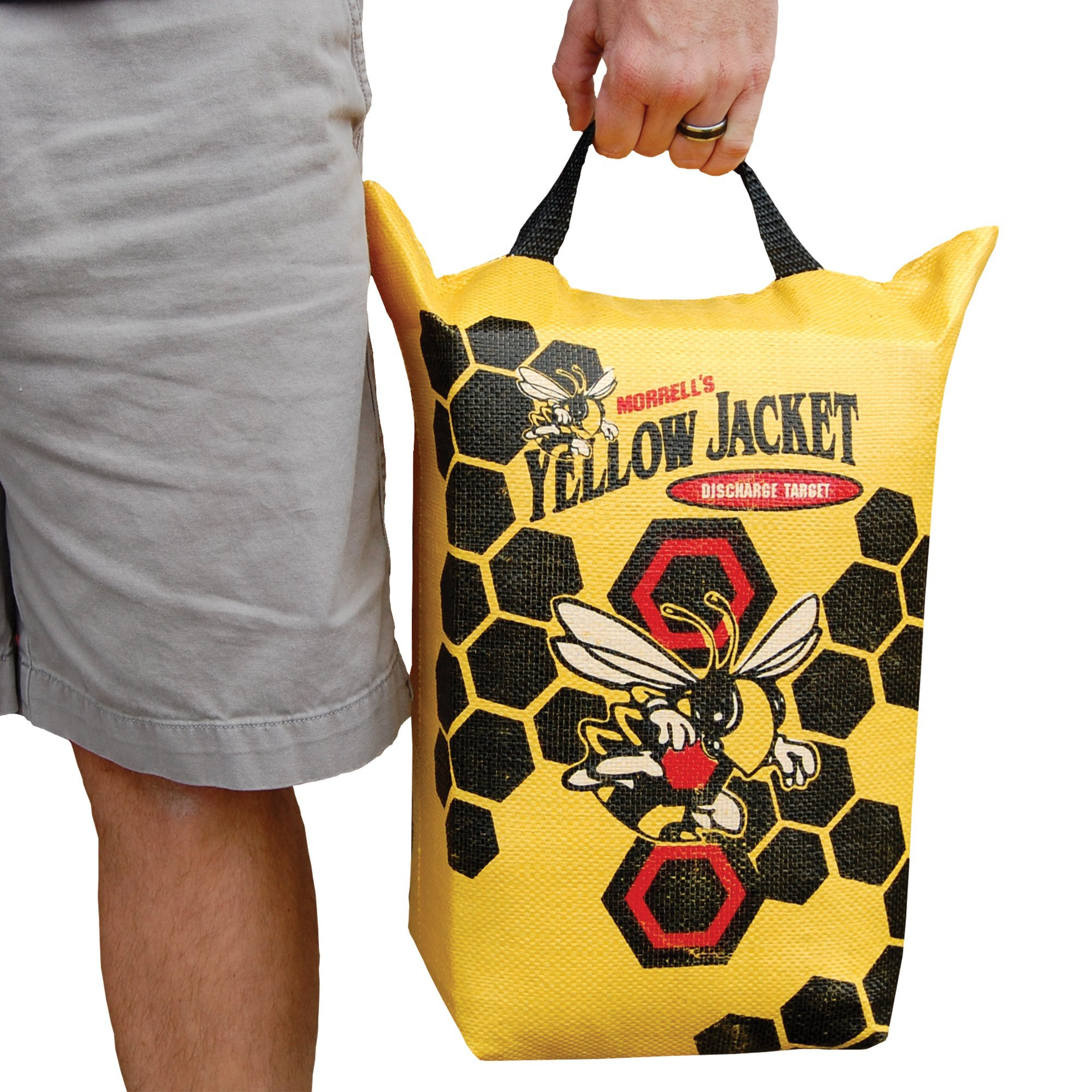 Morrell Yellow Jacket Crossbow Bolt Discharge Bag Archery Target - for Safely Discharging Crossbow Bolts After Hunting by Morrell