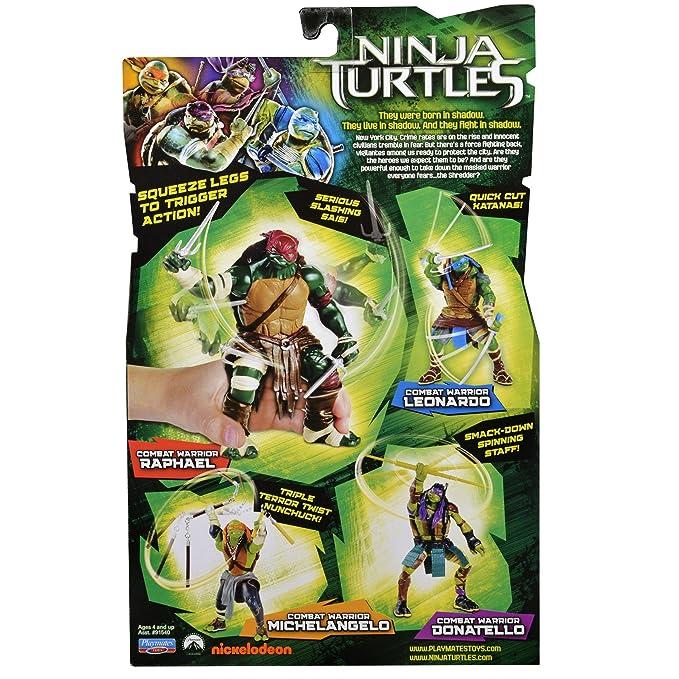 Película Tortugas Ninja Leonardo Combate Guerrero: Amazon.es ...