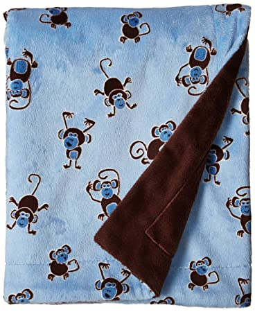 Western Lil/' Cub Hub Rodeo Cowboy Minky Baby,Toddler Stroller Blanket for Boys