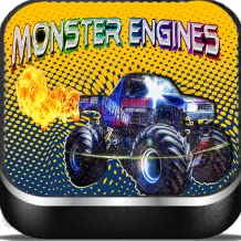 monster engines-cars