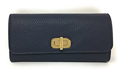 c7f2ca7ec72b Michael Kors Sullivan Large Leather Carryall Wallet (Admiral Blue ...