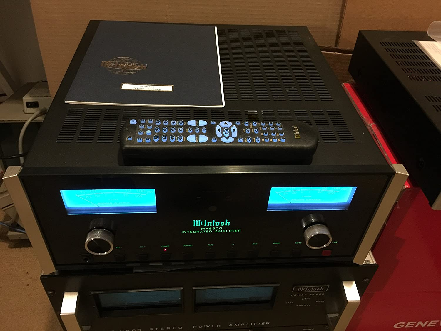 McIntosh ma6300 Integrated Amplifier   B005144DJY