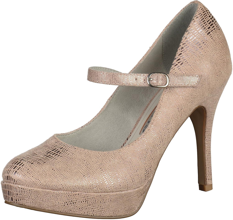 Tamaris Damenschuhe 1-1-24409-26 Damen Pumps, High Heels, Mary Jane Pumps