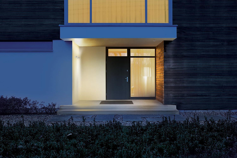 Steinel Bewegungsmelder IS 360-3 schwarz, 2000 W Schaltlast, 360 Grad Sensor, 12 m Reichweite, LED geeignet, Deckenmontage Weiß