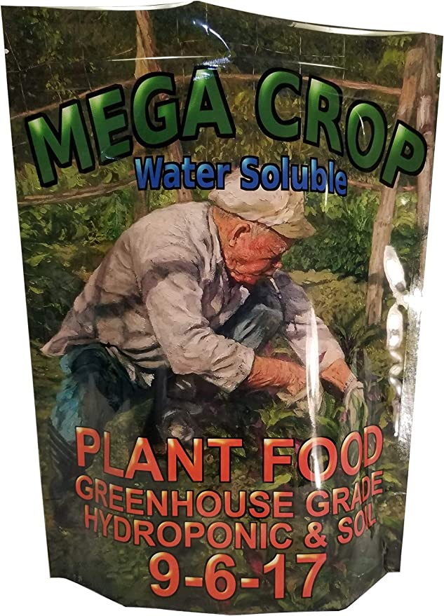 Greenleaf MEGA Crop Complete Hydroponic And Soil Nutrient-Best For Medical Marijuana