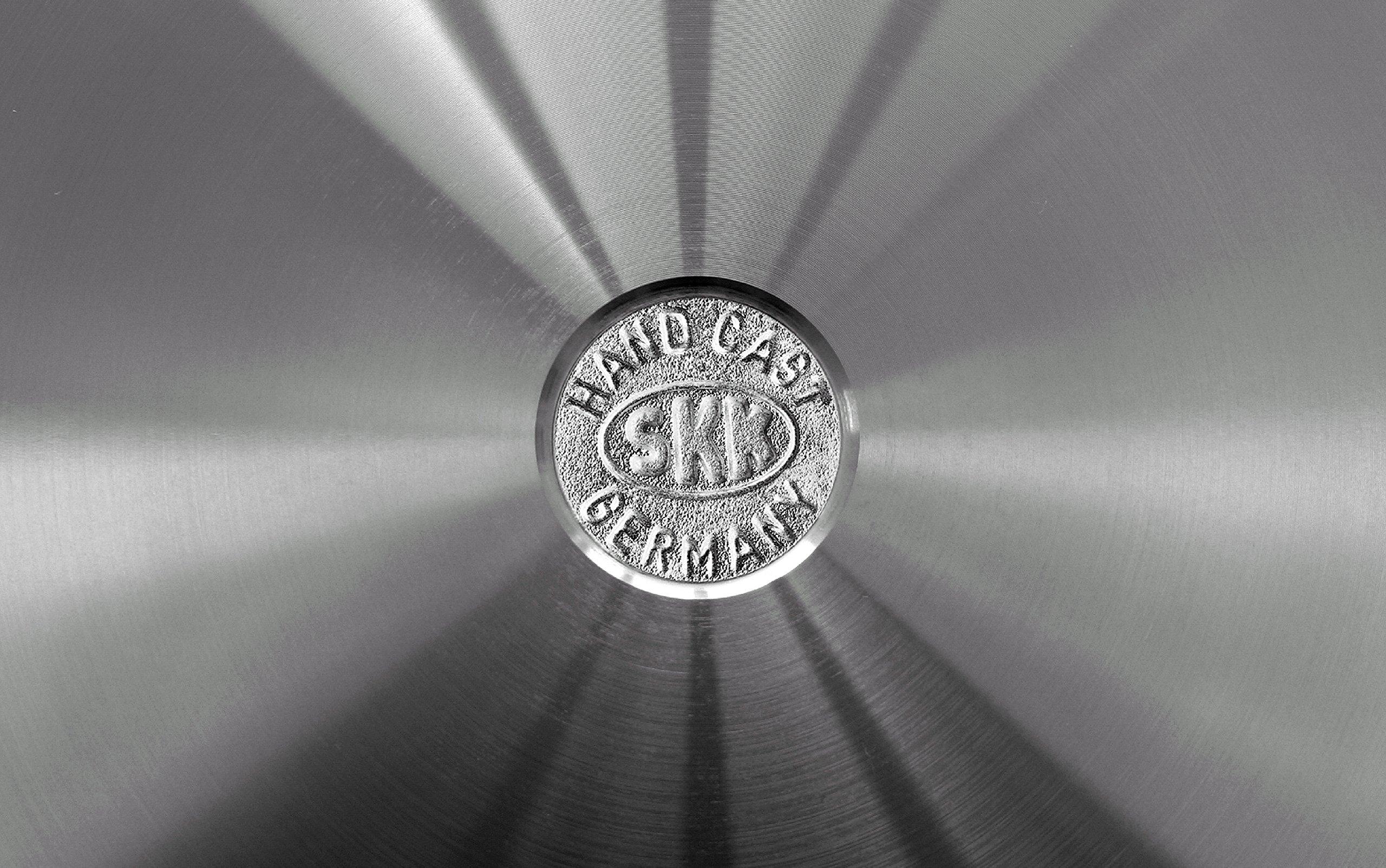 SKK 23614 Titanium Induction, Cast-Iron sauté PaN Diameter 26 cm with Removable Handle by SKK (Image #2)