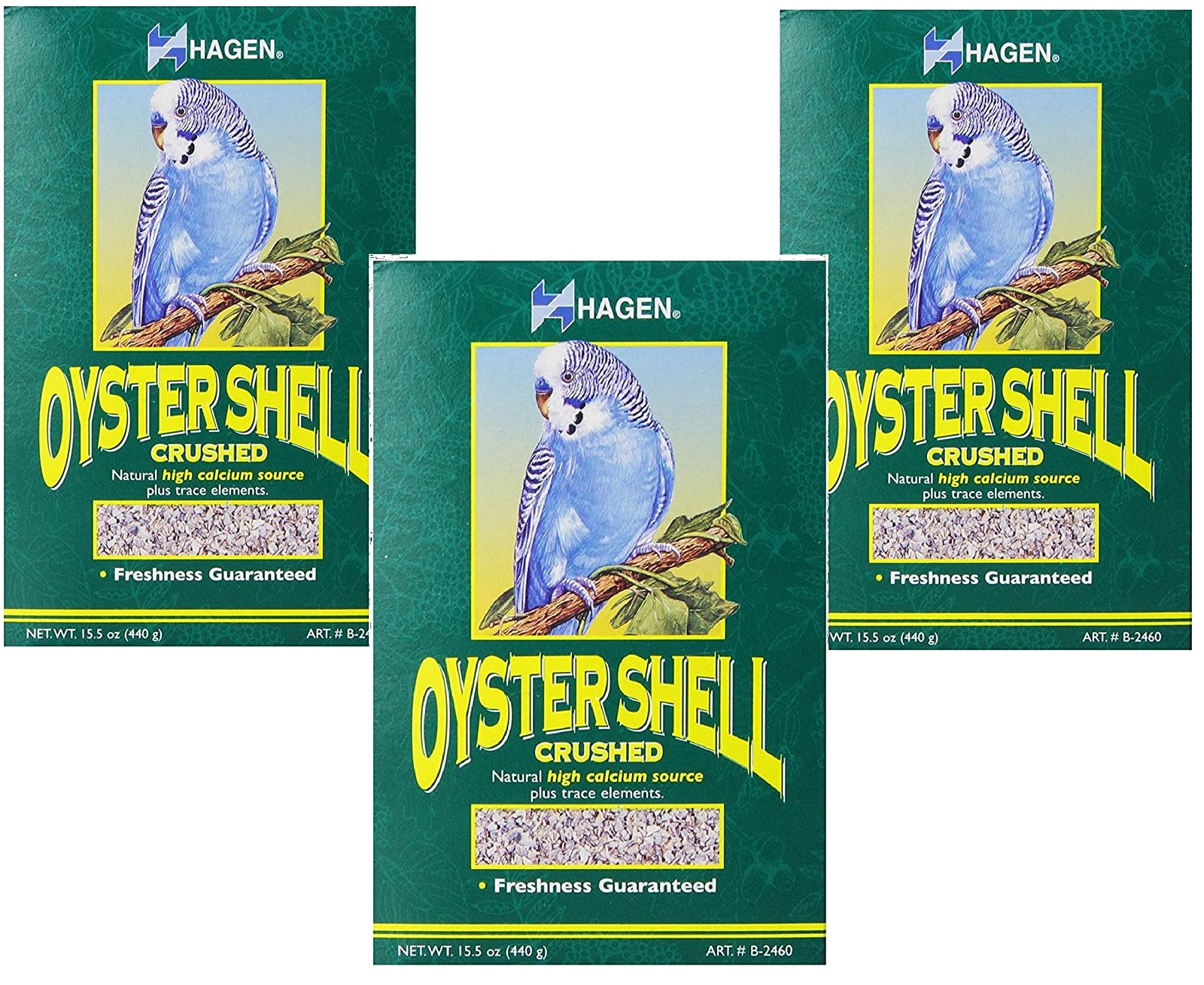 (3 Pack) Oyster Shells 15.5 Ounce Bags - 1