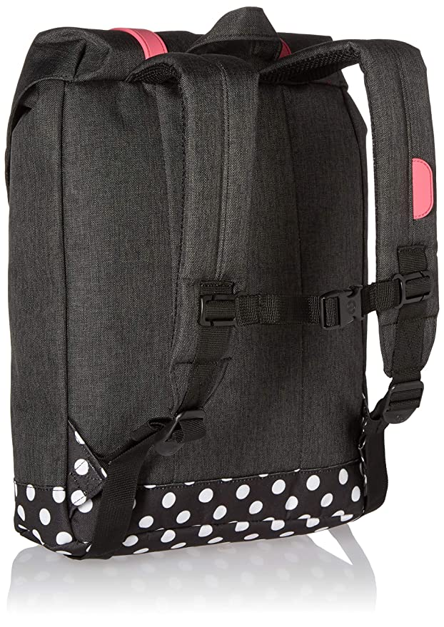 Amazon.com | Herschel Kids Retreat Youth Backpack-Barbados Cherry Mid Grey Crosshatch Childrens Black, One Size | Kids Backpacks