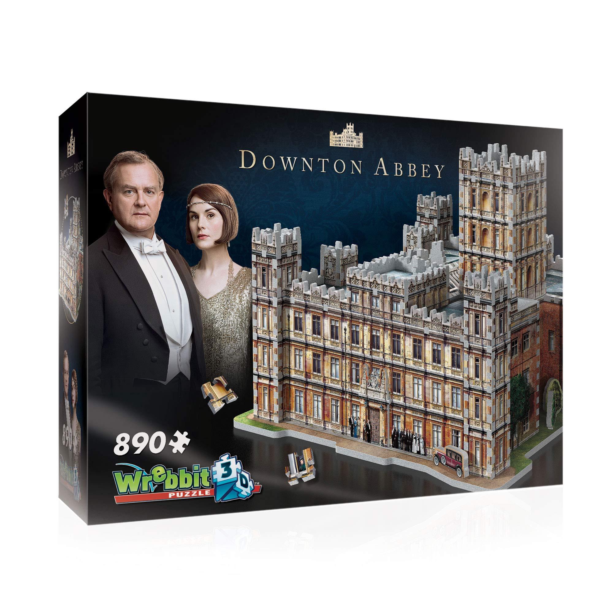 WREBBIT 3D - Downton Abbey 3D Jigsaw Puzzle - 890Piece, Brown/A by WREBBIT 3D