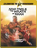 Star Trek 2 - The Wrath Of Khan Director's Cut (Limited Edition 50th Anniversary Steelbook) [Blu-ray] [2015]