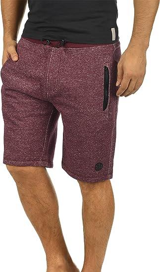 Blend Rigins Pantalón Corto Chándal Sweat- Bermudas para Hombre De ...