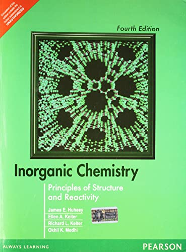 Inorganic Chemistry: Principles of Structure and Reactivity; 4e