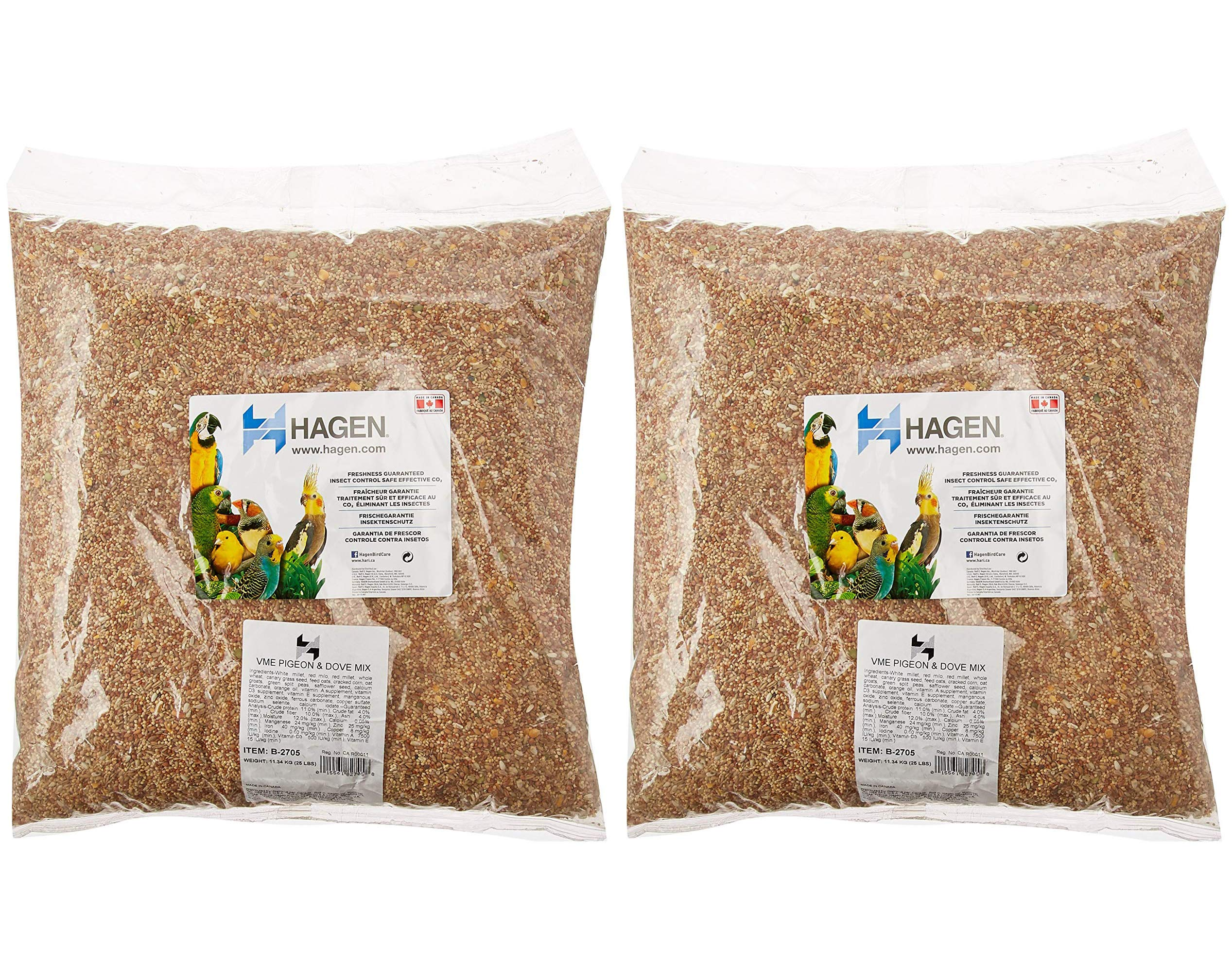Hagen Pigeon and Dove Staple Vme Seed, 25-Pound (Тwo Рack) by Hagen