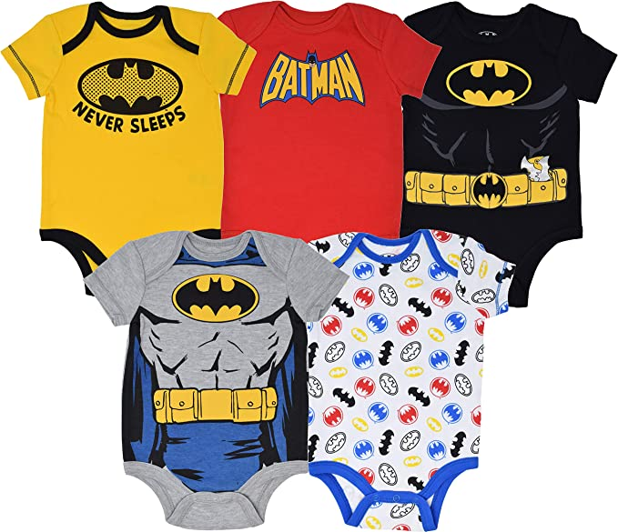 5 Pack Vest /& Brief Set Infant Boys Girls My Little Pony Frozen Spiderman Batman