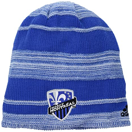 285d3dd8ab3 adidas MLS Montreal Impact Men s SP17 Fan Wear Heathered Cuffless Beanie