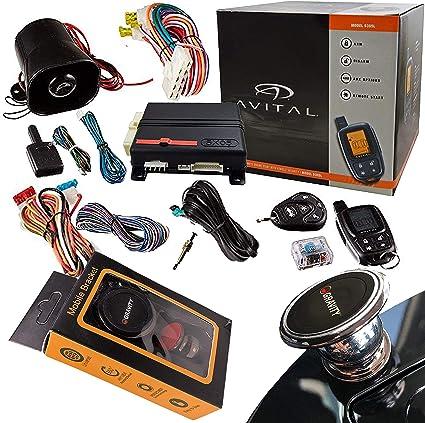 Amazon Com Avital 5303l Security Remote Start System Car Electronics