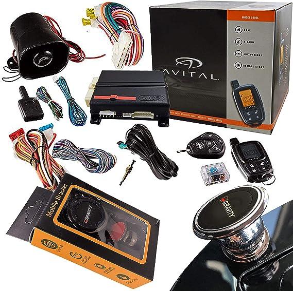 amazon.com: avital 5303l security/remote start system: car electronics  amazon.com