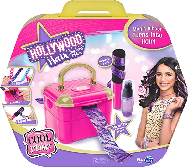Cool Maker Hollywood Hair Extensions Maker for kids in package