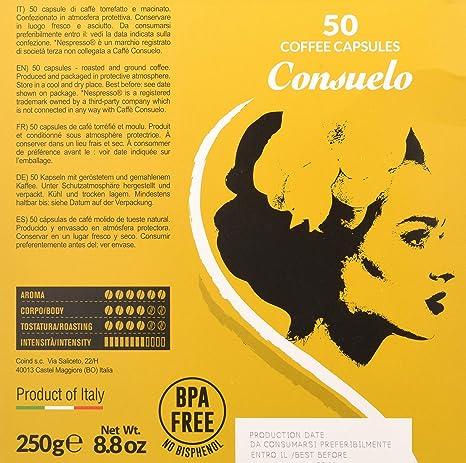 Consuelo - cápsulas de café compatibles con Nespresso* - Supremo ...