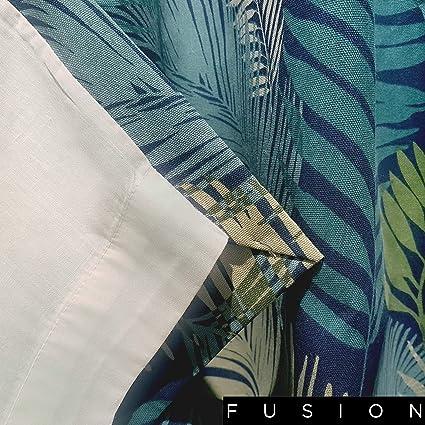Fusion Tropical Print Pom Pom Rempli Coussin Multi 43 x 43 cm