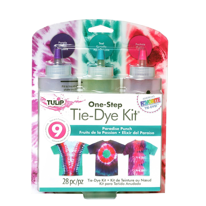 a16695ba52681 Amazon.com: Tulip One-Step Tie Dye Paradise Punch 3 Color Kit, 2 Piece