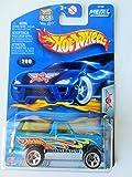 Hot Wheels 2003 Final Run Ford Bronco 6/12 BLUE #200 SUV