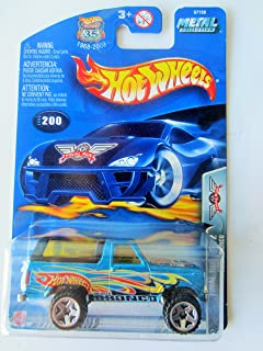 2000 Mattel SG/_B006S9LB5K/_US Hot Wheels Ford Bronco #198 Year
