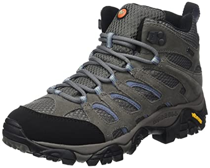 68cea5836 Amazon.com: Merrell Moab Mid Ladies Mid, Gore-Tex brown (Size: 39) trekking  shoes: Sports & Outdoors