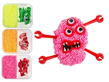 Hours of enjoyment make your own diy foam putty monster top hours of enjoyment make your own diy foam putty monster top selling girl girls boy negle Choice Image