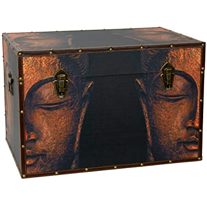 Bon Oriental Furniture Buddha Storage Trunk