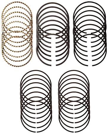 Amazon Com Set Of Hastings Moly Piston Rings Set For Chevy Sbc 327