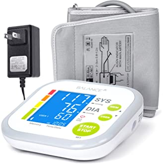 #11 Greater Goods Blood Pressure Monitor Cuff Kit by Balance, Digital BP Meter With Large Display