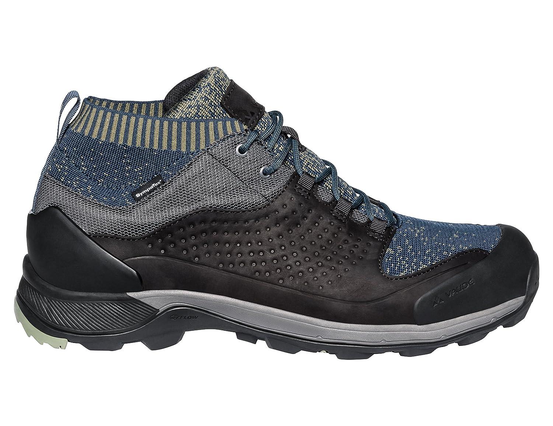 gris (Pewter gris) 46 EU VAUDE Hommes's TRK Skarvan STX, Chaussures de Randonnée Basses Homme