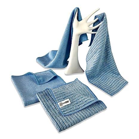 4 Pack toalla de cocina/toalla de limpieza (paquete por clearkleen – dos cocina
