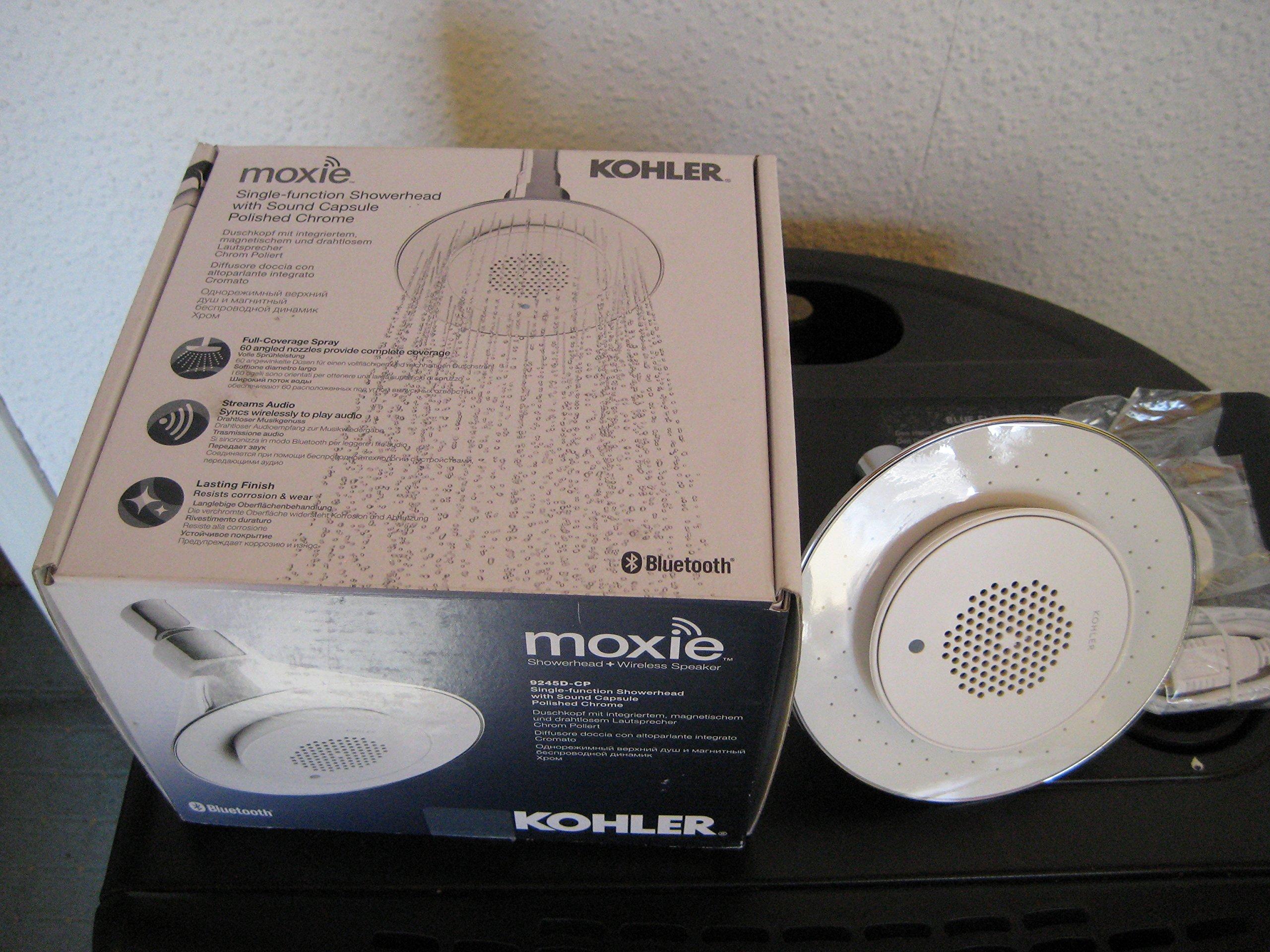 Kohler–Moxie 127mm Dusche mit magnetischer Wireless Lautsprecher Bild