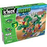 K'NEX Beasts Alive Tri-Stego Building Set for Ages 7+ Engineering Educational Toy, 214 Pieces