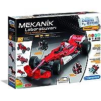 Clementoni - Bilim Ve Oyun - Mekanik Laboratuvarı - Yarış Arabaları (64995)