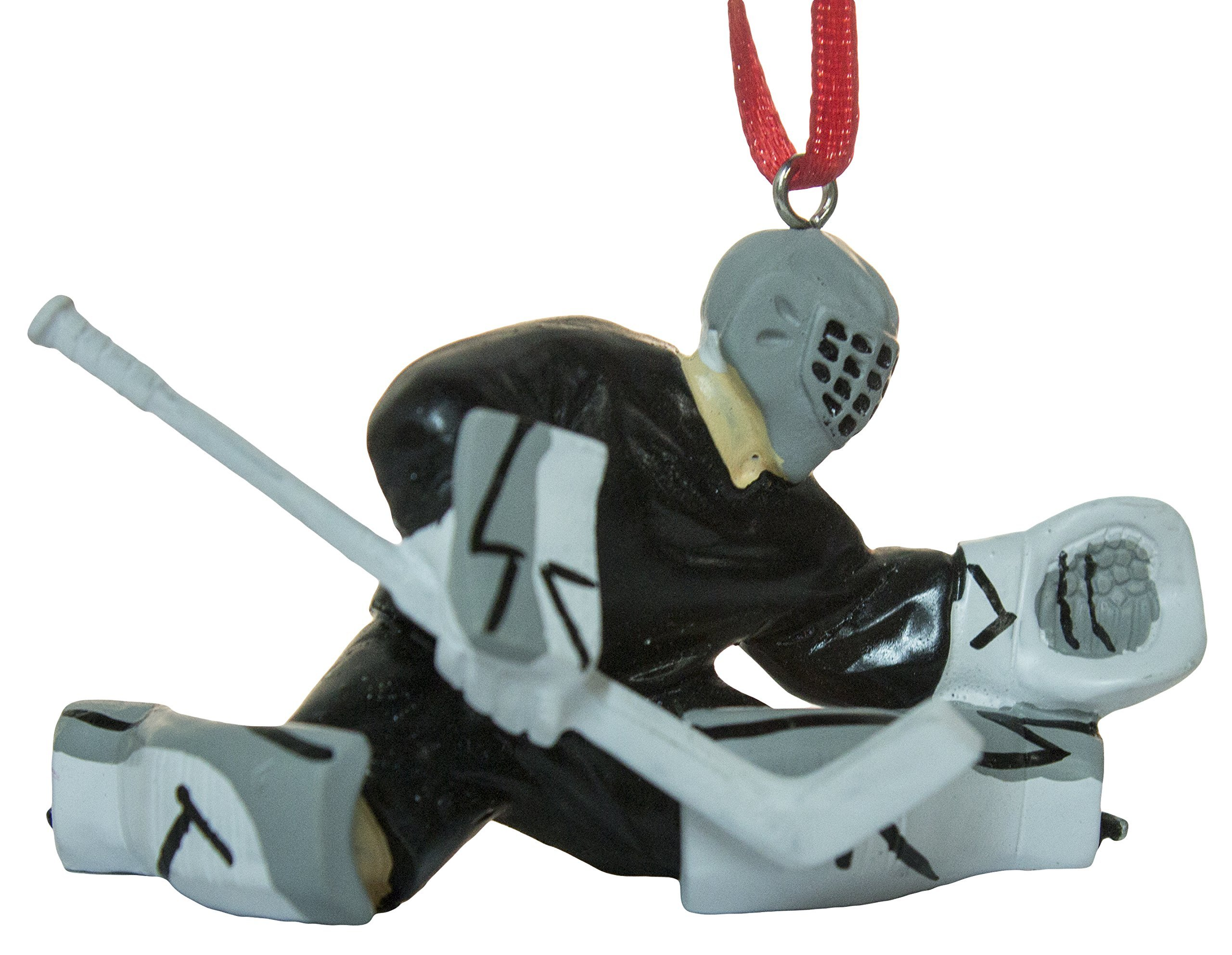 3'' Hockey Player Goalie Christmas/Everyday Ornament by Midwest-CBK