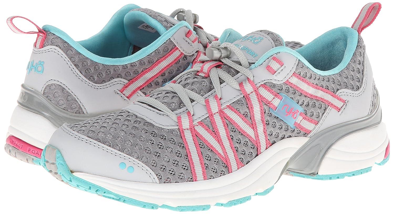 Ryka Women's Hydro Sport Water Shoe Cross-Training Shoe B00I9TT4ZG 10.5 B(M) US|Silver/Blue