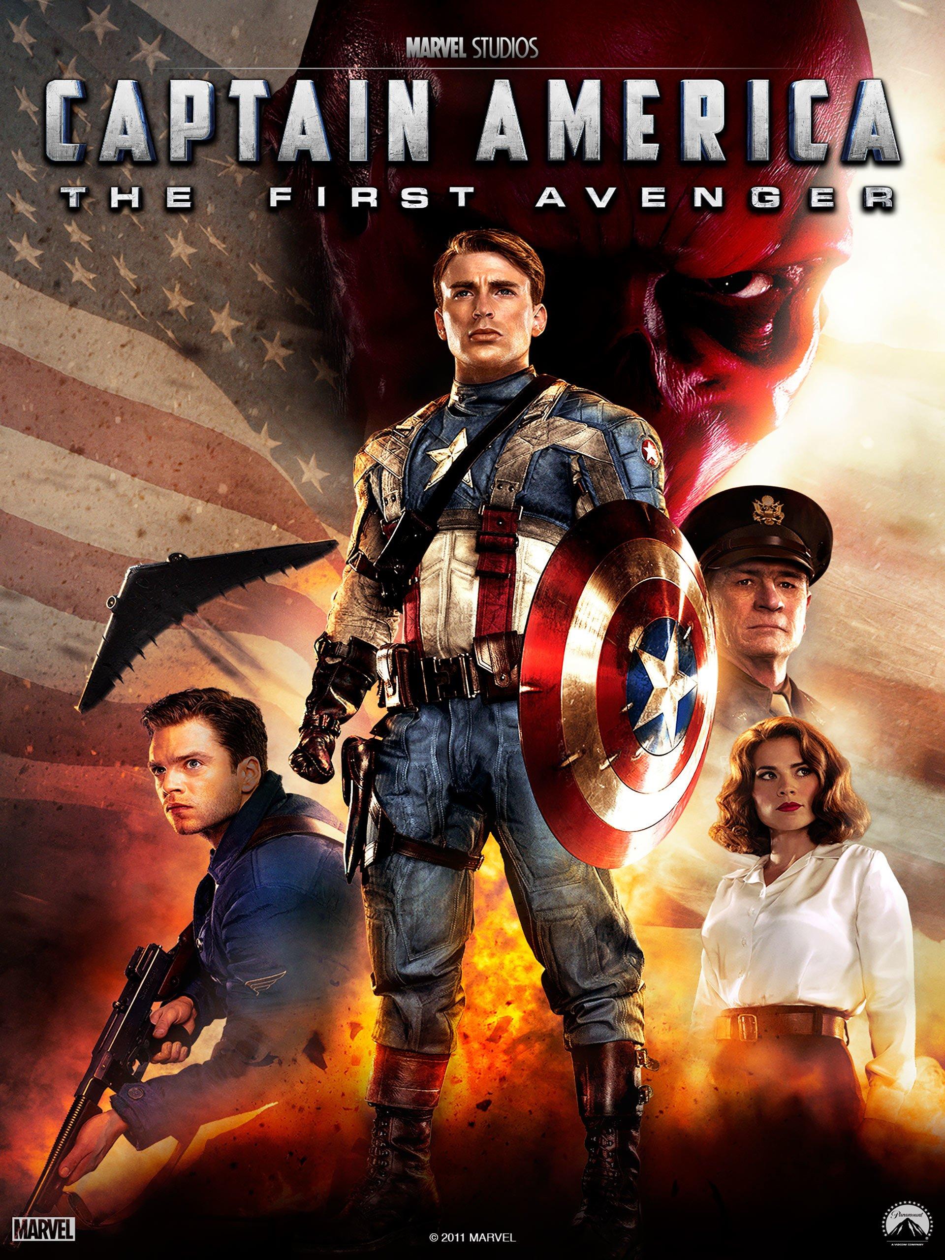 Amazon.de Marvel Studios' Captain America The First Avenger 20K ...