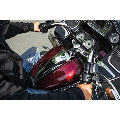 Kuryakyn 5688 Motorcycle Accent Accessory: Signature Series Smooth Dash Console by Jim Nasi for 2008-16 Harley-Davidson Motorcycles, Chrome: Automotive