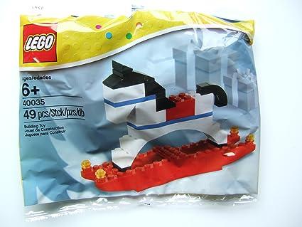 LEGO Estacional: Navidad Rocking Horse Establecer 40035 ...
