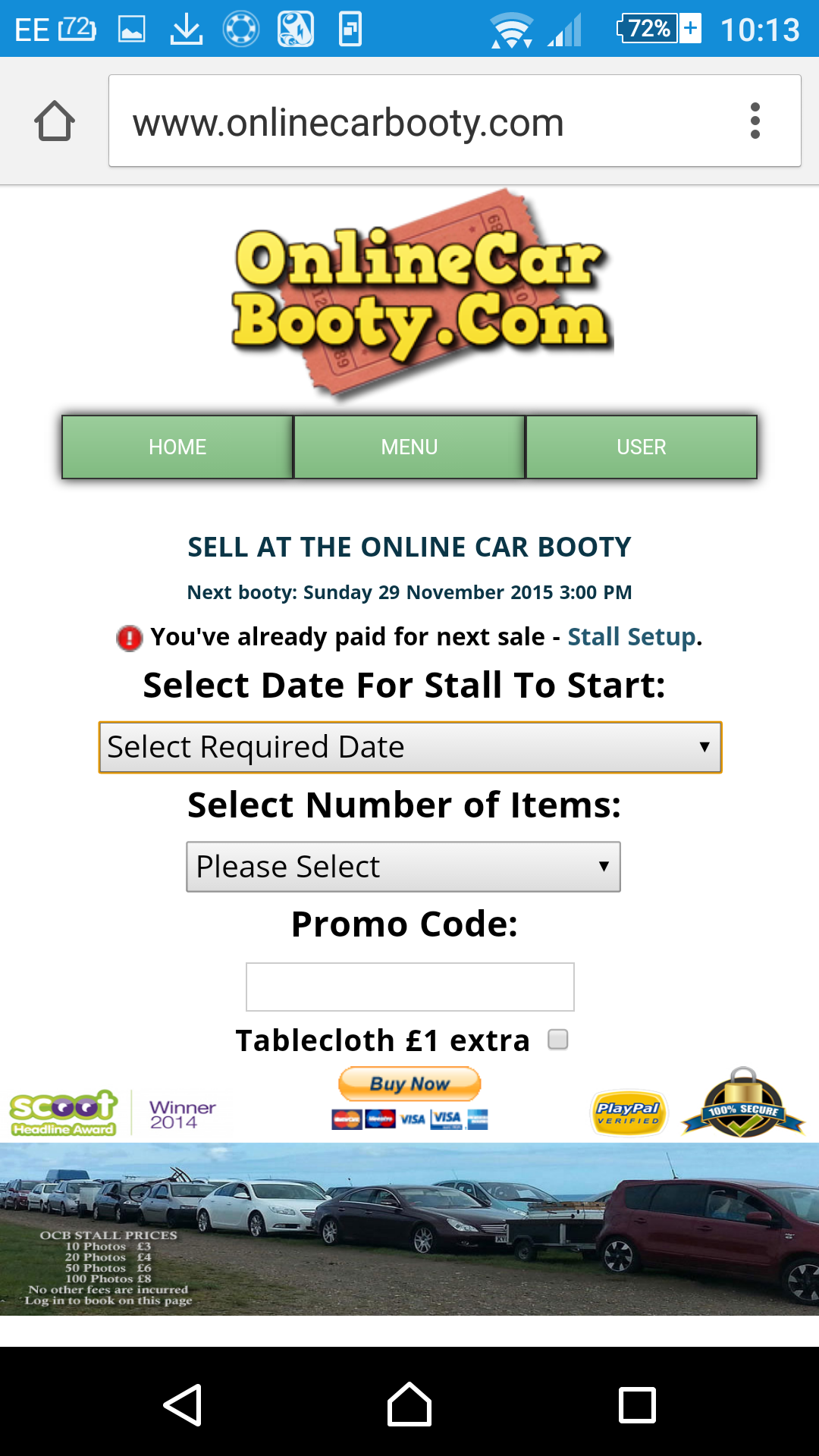 Amazon.com: Online Car Booty - Virtual Car Boot Sale: Appstore for ...
